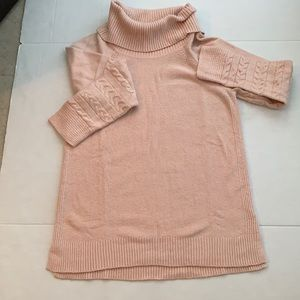 Calvin Klein Large cowl neck pullover sweater.